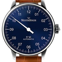 Meistersinger 03 - AM 908 - 43mm - Blue Dial