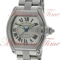 Cartier Roadster Large Automatic, Silver Dial - Stainless...