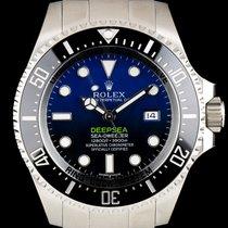 Rolex S/S Unworn D-Blue Dial Deepsea Sea-Dweller B&P 116660