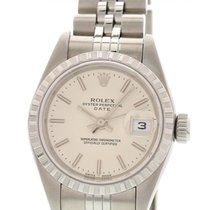 Rolex Date Stainless Steel Watch 79240 w/ Papers