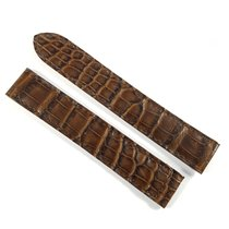 Wempe 16mm / 16mm brown alligator leather strap NEW