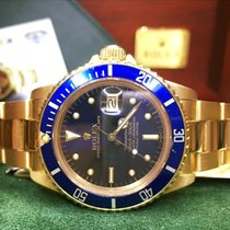 Rolex Submariner Date Vintage Nipple Dial Gold 18kt