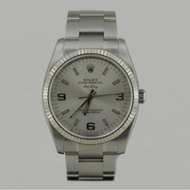 Rolex AiRKiNG WHiTE GOLD BEZEL 2011 PAPERS 34mm
