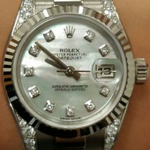 Rolex 179239 Lady-Datejust 26  White Mother of Pearl Diamond