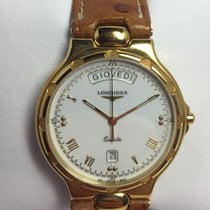 Longines Conquest Gold 18 kt