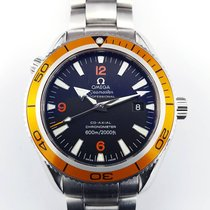 歐米茄 (Omega) Seamaster Planet Ocean 42mm orange CO-Axial Steel...