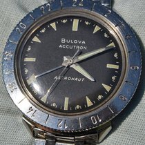 Bulova Accutron Astronaut Gmt 1966 Braccialato In Eccellenti...
