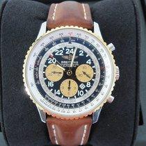 Breitling Navitimer Cosmonaute Steel/18K Rose Gold Chronograph