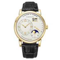 A. Lange & Söhne Lange 1 Moonphase 109021 Date 18K Yellow...