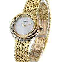 Cartier WG200258 Trinity Ladys Tri Color Watch - Diamond Bezel