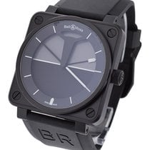 Bell & Ross BR0192-HORIZON BR 01-92 Horizon in Black PVD -...