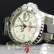 Rolex Yacht-Master 29 Stahl Platin Ref. 169622 Zertifikat 2002
