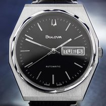 Bulova Swiss Made Vintage Stainless Steel Automatic 1970s Mens...