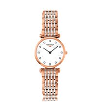 Longines La Grande Classique Rose Gold Quartz Ladies Watch...
