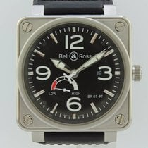 Bell & Ross Aviation Power Reverse Automatic Steel BR01-97-S