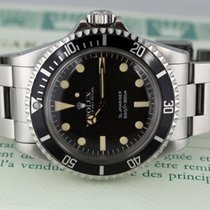 Rolex Submariner 5513 Maxi Dial unpolished Full Set