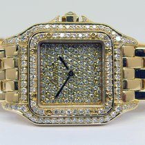 """Cartier Lady PANTHERE """"Diamond"""" in 18k Gelbgold"""