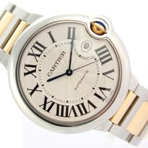 Cartier BALLON BLEU  AUTOMATIC 18K YELLOW GOLD & STEEL 3001