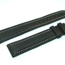 Breitling Band 20mm Kalb Schwarz Black Calf Strap Für Dornschl...