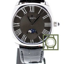 Zenith Heritage Star Moonphase black dial