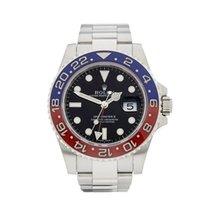 Rolex GMT-Master II Pepsi 18k White Gold Gents 116719BLRO - W4193