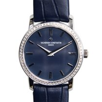 Vacheron Constantin Traditionnelle 18k White Gold Dark Blue...