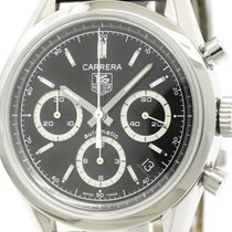 タグ・ホイヤー (TAG Heuer) Carrera Chronograph Steel Automatic Watch...