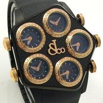 Jacob & Co. Global Carbon Pinkgold Diamonds GMT Roségold...