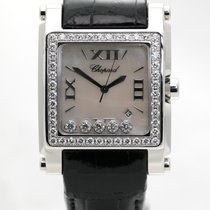 Chopard Happy Sport Square XL Ladies Watch 288448-2001