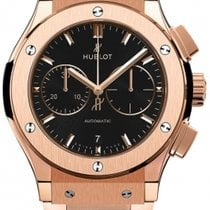 Hublot Classic Fusion King Gold Bracelet Chronograph 42mm