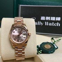 Rolex Cally - 179175G 26mm 18k RoseGold President Pink Diamond