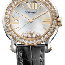 ショパール (Chopard) Happy Sport Round Quartz 30mm 278509-6006