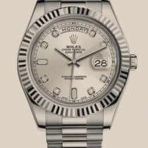 Rolex Oyster Day-Date II 41mm White Gold
