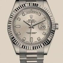 롤렉스 (Rolex) Oyster Day-Date II 41mm White Gold
