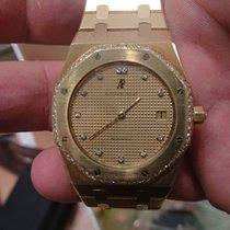 Audemars Piguet Royal Oak Jumbo diamonds 18K