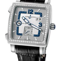 Ulysse Nardin Quadrato Dual Time Diamonds