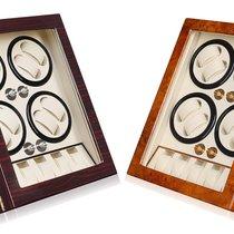Hand Made Wooden Quad Watch Winder 8 + 5