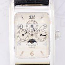 Audemars Piguet Calendar Edward Piguet 18K Weißgold white Dial...