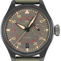 IWC Big Pilot Top Gun Miramar Black PVD Ceramic & Titanium...