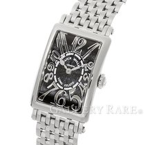 Franck Muller Long Island Black Dial 23MM Quartz Ladies Watch