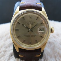Rolex DATEJUST 1611 18K Yellow Gold with Florentine Finish...