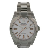 Rolex Oyster Perpetual Milgauss 116400 Box & Papers
