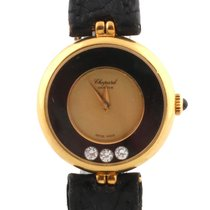 Chopard Happy Diamonds PAPERS manual winding 0,15crt 18k 1980...