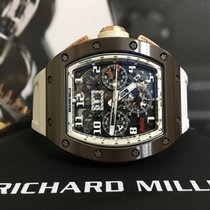 Richard Mille RM011 RM11 Asian Edition Brown Ceramic