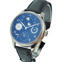 IWC IW503203 Portuguese Perpetual Calendar in White Gold - on...