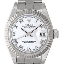 Rolex Ladies Rolex Datejust Steel & White Gold Watch 79174