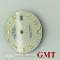 Rolex Datejust White Yellow Numbers 36mm