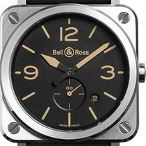 Bell & Ross BR S STEEL HERITAGE BRS-HERI-ST/SCA