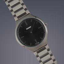 Rado True Thinline ceramic quartz watch