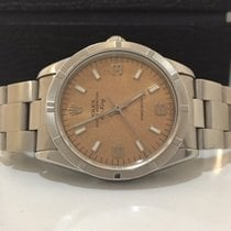 Rolex Air King Champagne Dial 34mm Completo 34mm